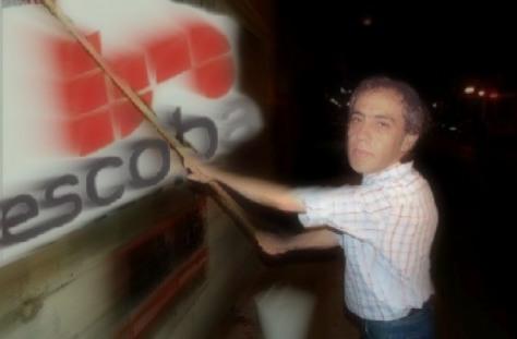 Sandro Guzman censura medios en escobar