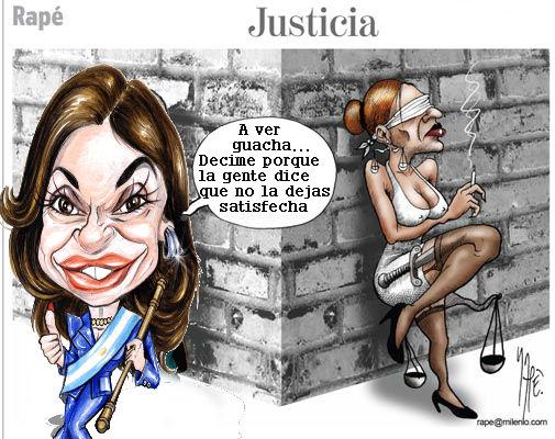 Creen que el Fallo Absolutorio de  los jueces tucumanos sería el resultado de la servilidad y obsecuencia de esa provincia en no contradecir los dichos presidenciales  de que la justicia es una mierda