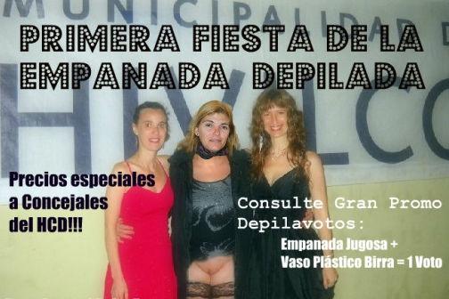 La Municipalidad de Escobar junto a la Empresa El Noble organizarán la Fiesta de la Empanada Depilada