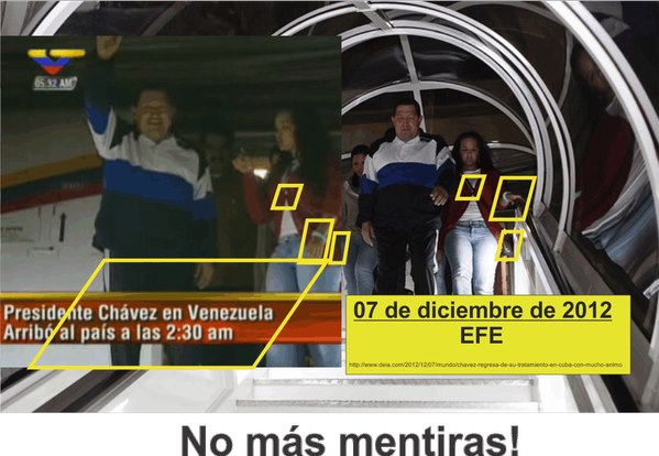 Chávez regresa quejándose de que todo está más caro