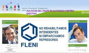 Sandro Guzman y Luis Patti en antigua Publicidad Escobarense sobre la adicción y el fascismo