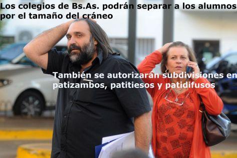 La plana mayor del Frente Gremial  apoya la propuesta del SUTEBA y de la FEB locales. COmo siempre UDOCBA está en desacuerdo.