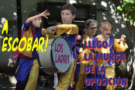 POLITICOS DE LA OPÒSICIÓN EN MUNICIPIO DE ESCOBAR
