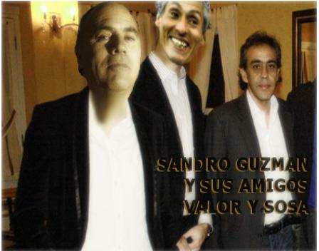 Histórica reunión en el Patronato de la Infancia en Ingeniero Maschwitz  de Sandro Guzman yn figuras de la talla del Gordo Valor y la Garza Sosa