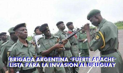 INVASION AL URUGUAY
