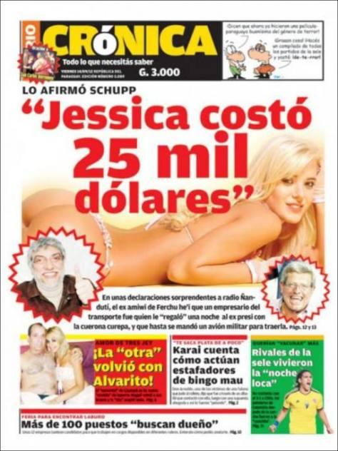 jesica cirio desnuda paraguay
