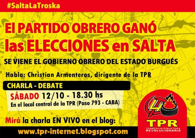El oficialismo afirma que 72.947 salteños usaron drogas psicodélicas para poder votar al Partido Obrero