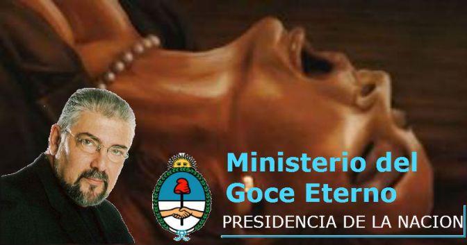 Argentina plagia a Venezuela y crea su propio Ministerio del Goce Eterno poniendo al frente a Jorge Bucay por su experiencia.