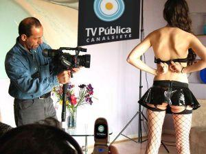 canal 7 television humor politico