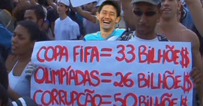 Brasil: Cesan las manifestaciones y críticas por los fondos del mundial